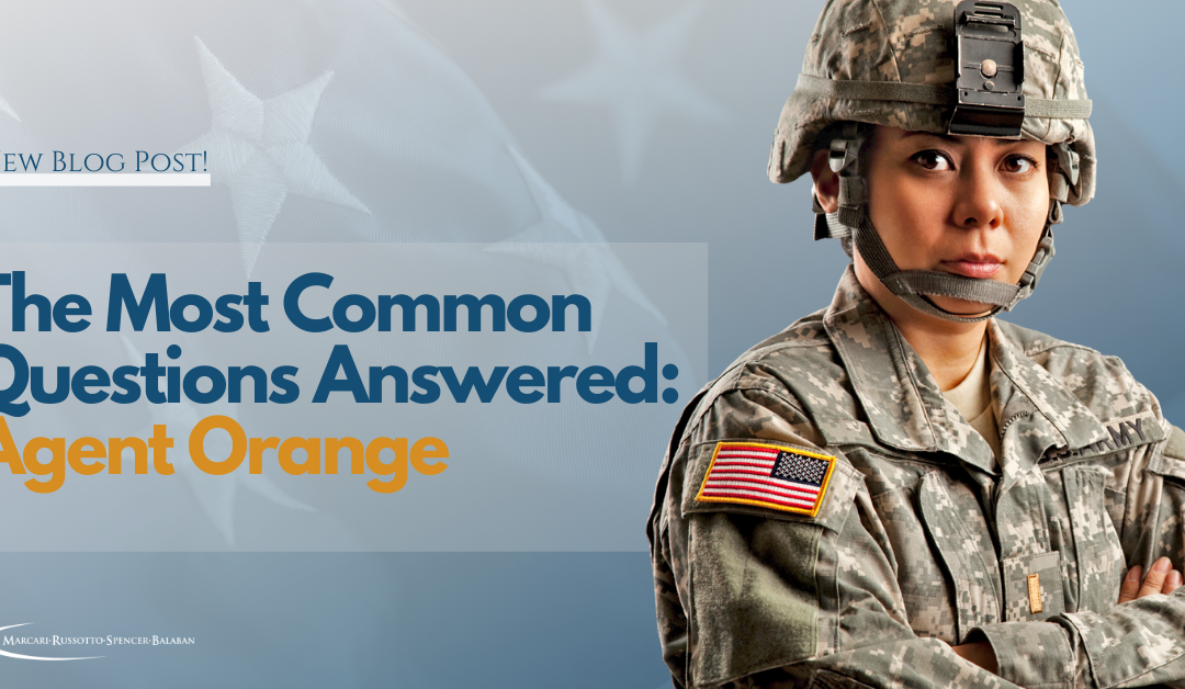 The Most Common Questions Answered: Agent Orange